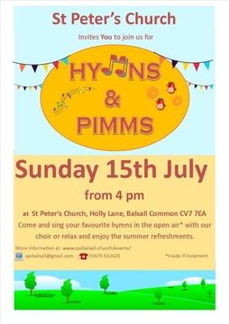 Hymns & Pimms